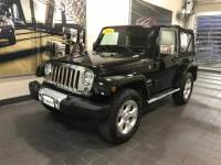 2014 Used Jeep Wrangler 4WD 2dr Sahara in Black Clearcoat For Sale in Moline IL | S20481A