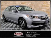 Pre-Owned 2017 Honda Accord Sedan LX CVT PZEV