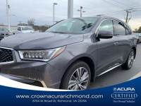 Pre-Owned 2017 Acura MDX V6 SH-AWD with Technology Package in Richmond VA