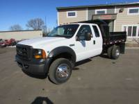 Used 2006 Ford F-550 4x4 Ex-Cab Contractor Dump