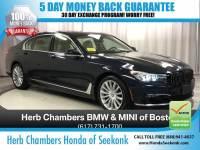 Pre-Owned 2016 BMW 740 740i Sedan in Sudbury, MA