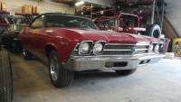 1969 Chevrolet Chevelle -CONVERTIBLE - 4 SPEED - BUCKET SEATS -