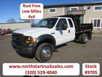 Used 2006 Ford F-550 4x4 Ext-Cab Contractor Dump Truck