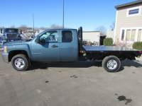 Used 2009 Chevrolet 2500HD Duramax 4x4 Ext-Cab Flatbed Truck