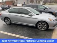 Certified 2017 Honda Accord EX-L Sedan