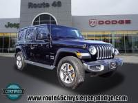 Used 2018 Jeep Wrangler Unlimited Sahara 4x4 TOTOWA NJ M7772RI
