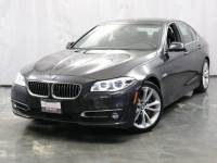 2014 BMW 5 Series 535d AWD xDrive / 3.0L 6-Cyl DIESEL Engine / Navigation / Sunroof / Push Start / Bluetooth / Parking Aid with Rear View Camera