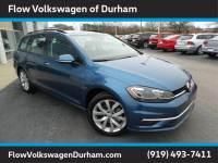 Pre-Owned 2019 Volkswagen Golf SportWagen 1.4T Wagon