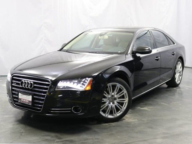 Photo 2011 Audi A8 4.2L V8 Engine  AWD Quattro  Navigation  Parking Aid with Rear View Camera  Bang  Olufsen Premium Sound System
