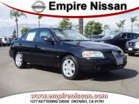 Used 2006 Nissan Sentra For Sale in Ontario CA   Serving Los Angeles, Fontana, Pomona, Chino   3N1CB51D46L608477