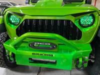Used 2019 Jeep Wrangler Unlimited HULK CUSTOM LIFTED SAHARA LEATHER HARDTOP OCD