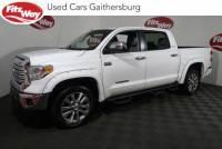 Used 2017 Toyota Tundra Limited 5.7L V8 w/FFV in Gaithersburg