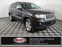 Pre-Owned 2013 Jeep Grand Cherokee Overland SUV in Denver