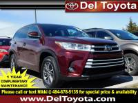 Certified Pre-Owned 2017 Toyota Highlander For Sale in Thorndale, PA | Near Malvern, Coatesville, West Chester & Downingtown, PA | VIN:5TDJZRFHXHS380422
