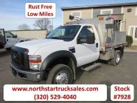 Used 2008 Ford F-450 4x2 Reg Cab Flatbed Truck