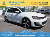 2017 VOLKSWAGEN GOLF GTI 2.0T 4-DOOR SE DSG