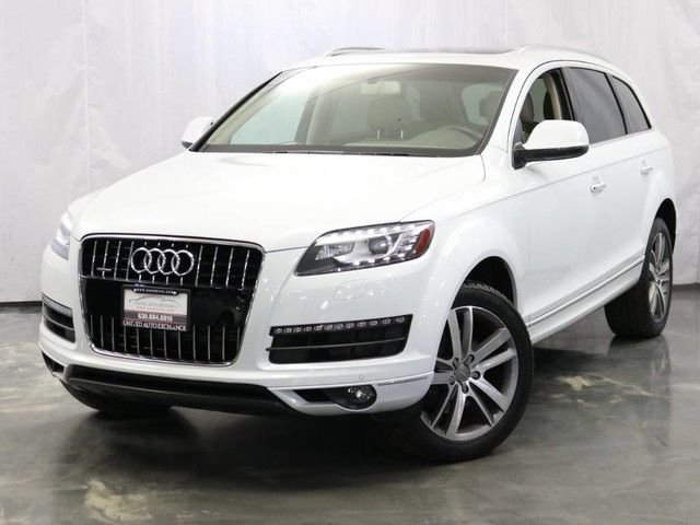 Photo 2014 Audi Q7 3.0T Premium Plus  3.0L V6 Engine  AWD Quattro  Panoramic Sunroof Navigation  Bluetooth  Parking Aid with Rear View Camera  Bose Premium Sound System