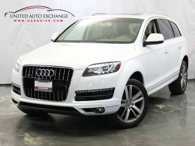 Photo 2014 Audi Q7 3.0T Premium Plus  3.0L V6 Engine  AWD Quattro  Panoramic Sunroof Navigation  Bluetooth  Parking Aid with Rear View Camera  Bose Premium Sound System  Side Assist