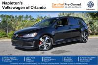 Certified Volkswagen Golf GTI SE in Orlando, FL