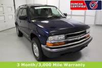 Used 2000 Chevrolet Blazer For Sale at Duncan's Hokie Honda | VIN: 1GNDT13W4Y2265574
