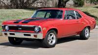 1972 Chevrolet Nova Red Automatic and Sweet 350 V8 Sound