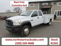 Used 2009 Dodge Ram 4500 4x4 Crew-Cab Service Utility Truck