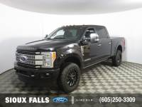 Pre-Owned 2017 Ford F-350 Platinum Crew Cab Shortbox for Sale in Sioux Falls near Brookings