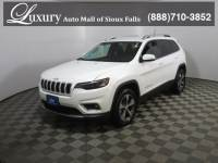 Pre-Owned 2019 Jeep Cherokee Limited 4x4 SUV for Sale in Sioux Falls near Brookings