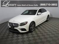 Certified Pre-Owned 2017 Mercedes-Benz E-Class E 300 4MATIC Sedan for Sale in Sioux Falls near Vermillion