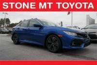 Pre-Owned 2017 Honda Civic Hatchback EX