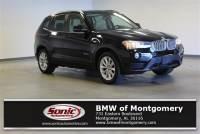 Certified Pre-Owned 2017 BMW X3 SAV in Montogomery, AL