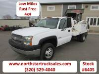 Used 2003 Chevrolet 3500 4x4 Reg Cab Core Drilling Utility Truck