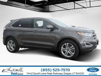 2017 Ford Edge Titanium SUV TWIN-SCRL ECOBOOST ENG