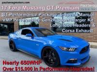 Used 2017 Ford Mustang GT Premium Fastback For Sale at Paul Sevag Motors, Inc. | VIN: 1FA6P8CF4H5300892