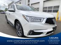 Certified 2018 Acura MDX V6 SH-AWD with Advance Packages in Richmond VA
