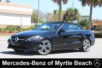 Used 2014 Mercedes-Benz E-Class Cabriolet For Sale in Myrtle Beach, South Carolina