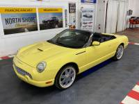 2002 Ford Thunderbird -DELUXE CONVERTIBLE - CLEAN CAR FAX -
