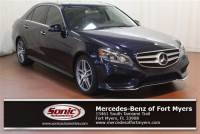 Pre-Owned 2014 Mercedes-Benz E-Class E 350 Sport in Fort Myers