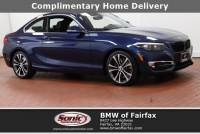 Certified Used 2018 BMW 2 Series Coupe in Fairfax, VA