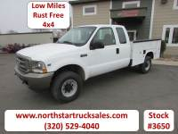 Used 2002 Ford F-250 4x4 Ext-Cab Service Utility Truck