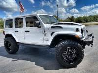Used 2019 Jeep Wrangler Unlimited WHITEOUT LIFTED LEATHER SAHARA HARDTOP NAV