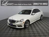 Pre-Owned 2011 Mercedes-Benz E-Class E 350 4MATIC Sedan for Sale in Sioux Falls near Brookings