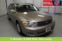 Used 2001 Toyota Avalon For Sale at Duncan Hyundai | VIN: 4T1BF28B81U192539