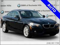 Pre-Owned 2014 BMW 2 Series 228i Coupe For Sale in Shelby MI