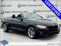 Certified Pre-Owned 2017 BMW 4 Series 430i xDrive Convertible For Sale in Shelby Township