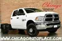 2018 Ram 3500 Chassis Crew Cab Tradesman DRW - 4WD 6.7L I6 CUMMINS TURBO DIESEL ENGINE 1 OWNER GRAY LEATHER INTERIOR 6 PASSENGER SEATING