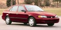 Pre-Owned 2001 Chevrolet Prizm 4dr Sdn