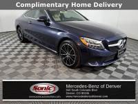 Certified Pre-Owned 2019 Mercedes-Benz C-Class C 300 4MATIC Coupe in Denver
