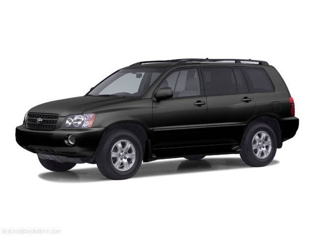 Photo 2003 Toyota Highlander Limited SUV