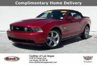 Pre-Owned 2011 Ford Mustang 2dr Conv GT VIN1ZVBP8FF2B5142156 Stock NumberTB5142156